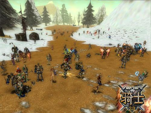 上线直达50级《骑士3.0》5月8日开启公测