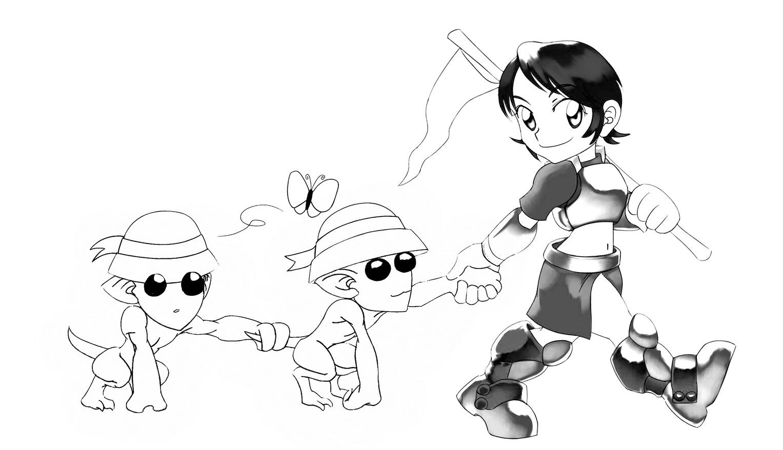 快乐涂鸦 与《骑士3.0》一起寻找你的童真